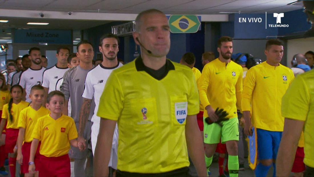 Grupo E:Brasil v Costa Rica