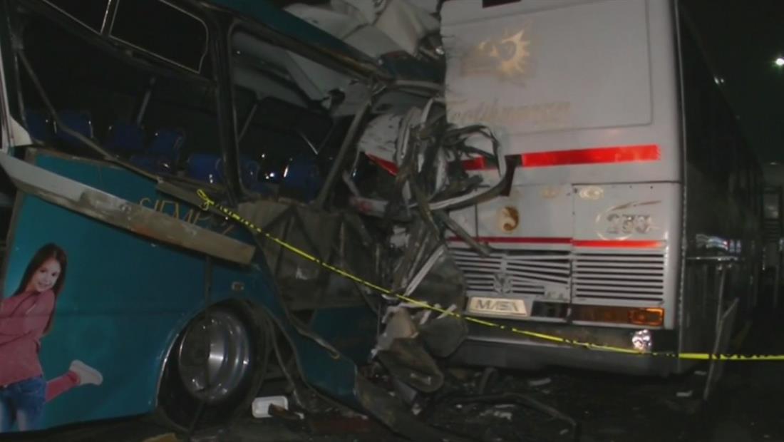 Un bebé de solo 2 años fue uno de los 13 fallecidos en el choque de tres autobuses en México