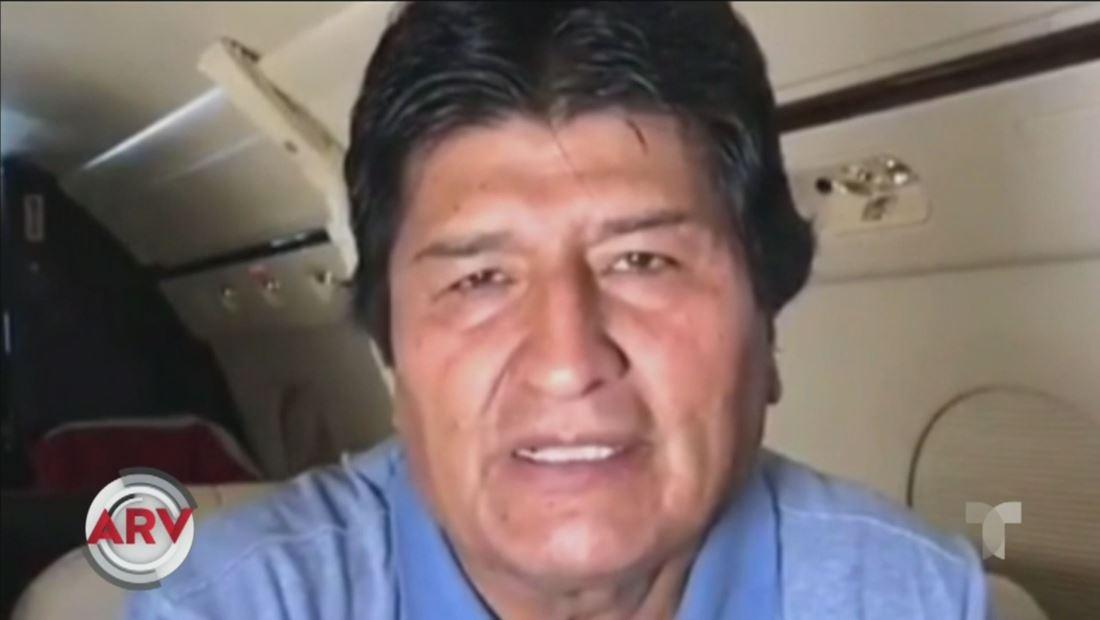 Evo Morales llega a México luego de un complicado viaje