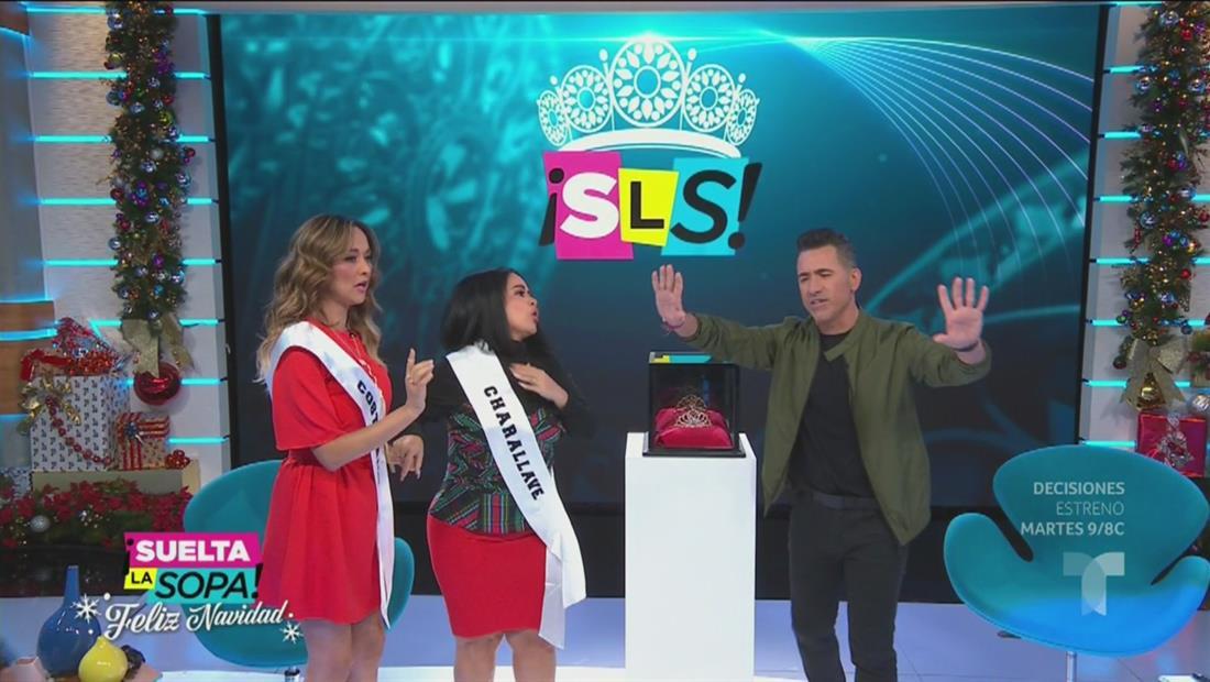 Carolina Sandoval y Verónica Bastos se pelean por la corona  (VIDEO)