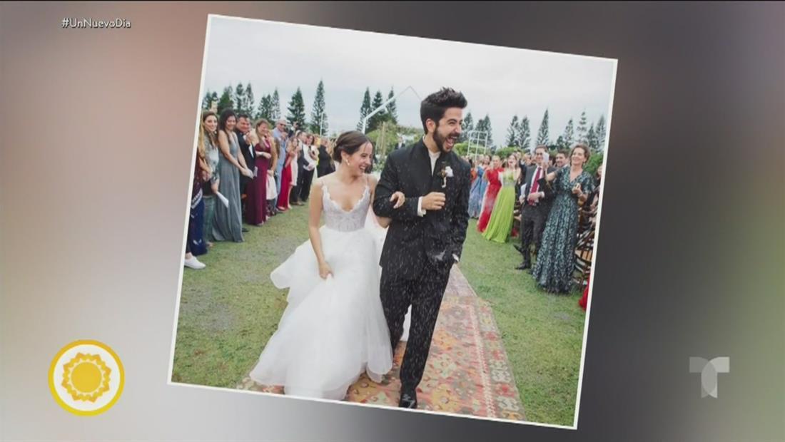 Evaluna Montaner y Camilo se casaron en una boda de ensueño