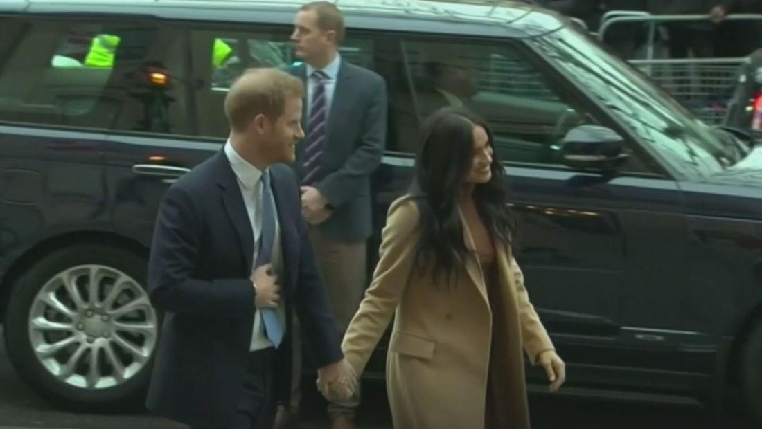 Los duques de Sussex logran separarse de la casa real británica
