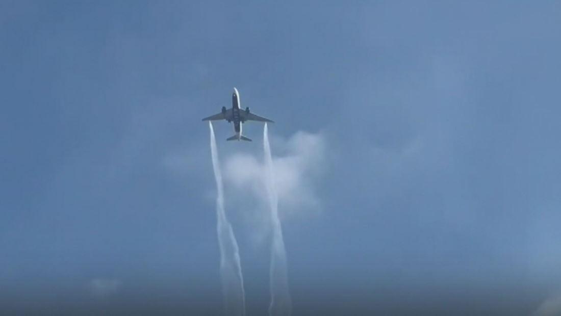 Exigen respuestas por el derrame de combustible de un avión sobre escuelas de California