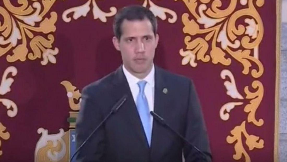 Juan Guaidó recibe honores y es reconocido como héroe en España