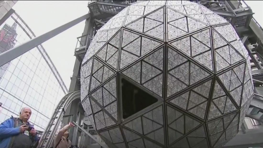 """"""" Nueva York se prepara para la gran celebración en Time Square para recibir el año nuevo"""""""
