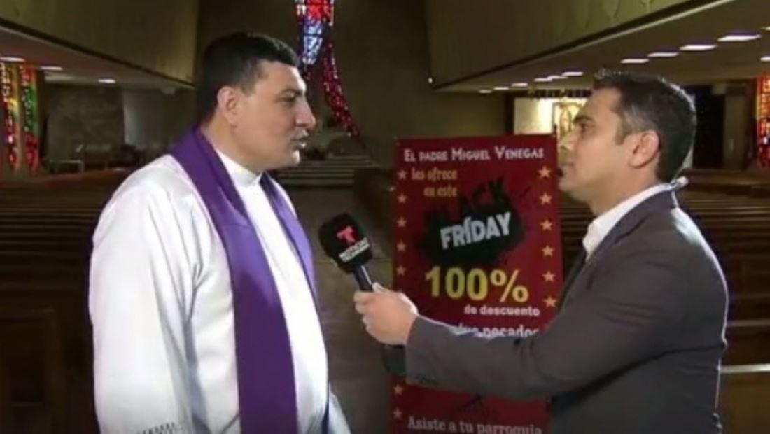 Las 'mejores ofertas' del 'Black Friday' están en esta iglesia de Chicago