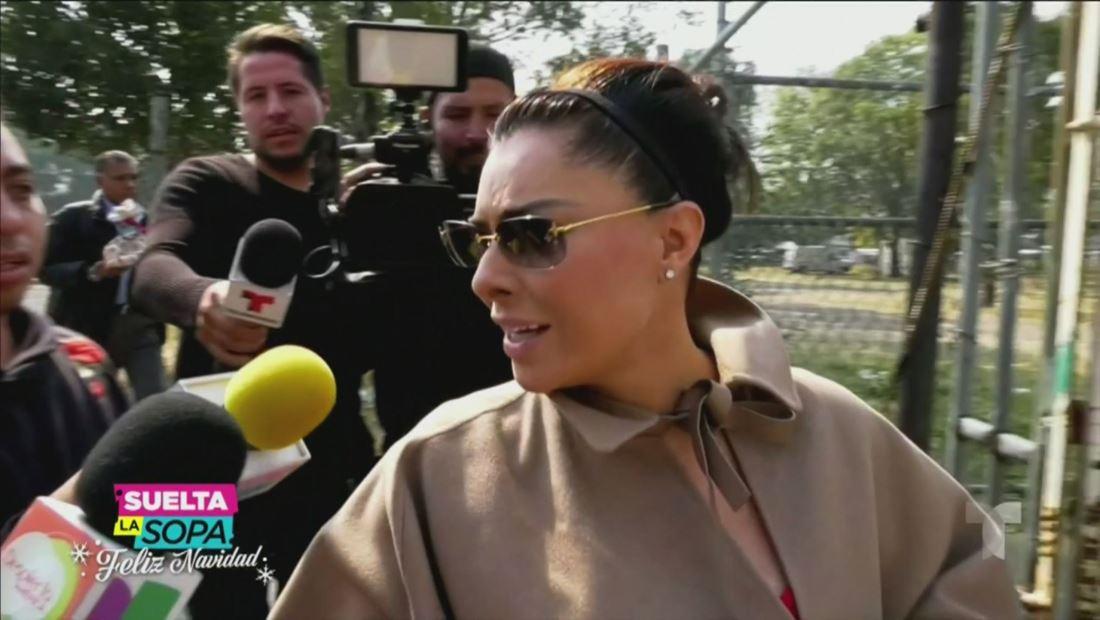 Yadhira Carillo reacciona después de que le negaran amparo a su esposo