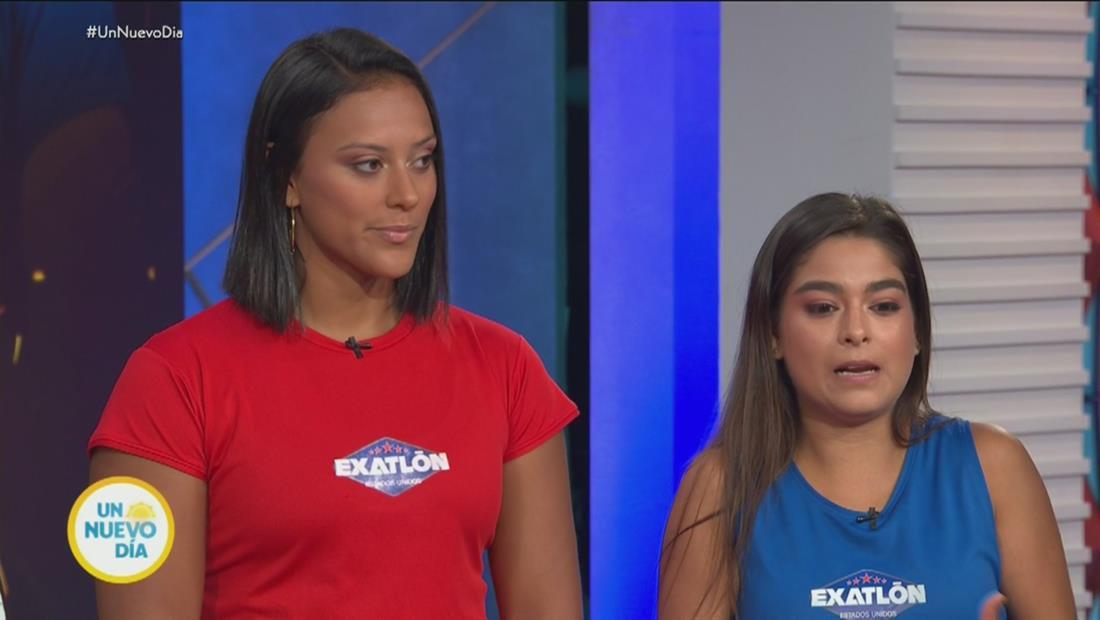 Mariana Reid y Karla Salazar le dicen adiós a Exatlón EE. UU.