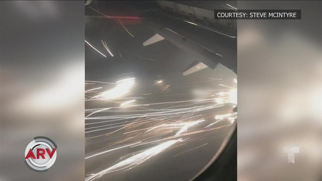 Momentos de terror vivieron pasajeros en vuelo de New Jersey a Denver