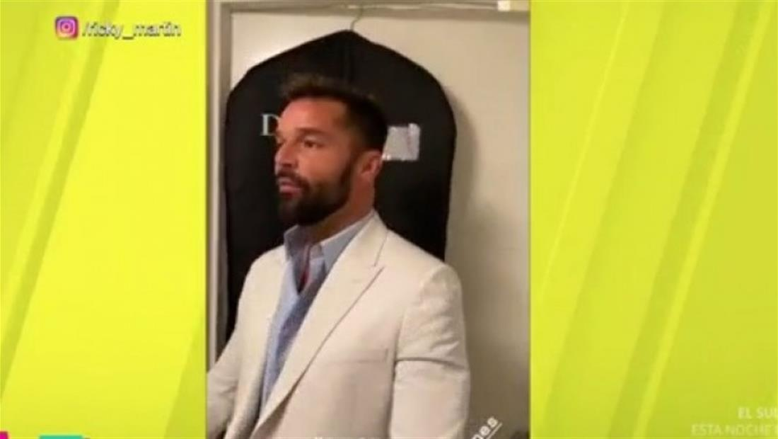Ricky Martin sube video que alborota a su fanaticada (VIDEO)
