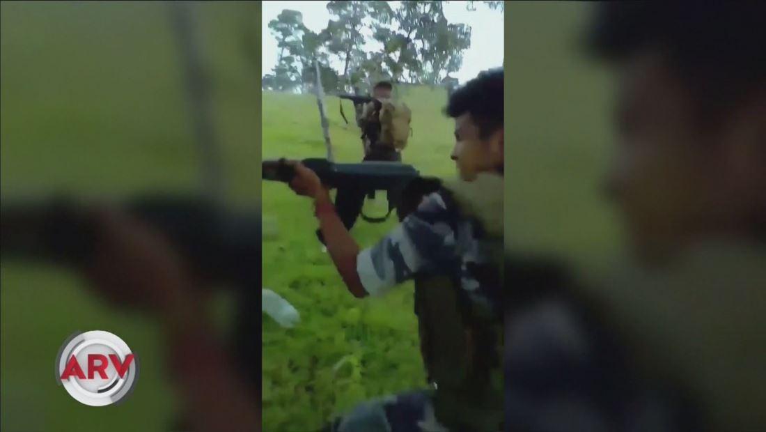Difunden video de niños sicarios entrenando con armas largas junto a grupo criminal