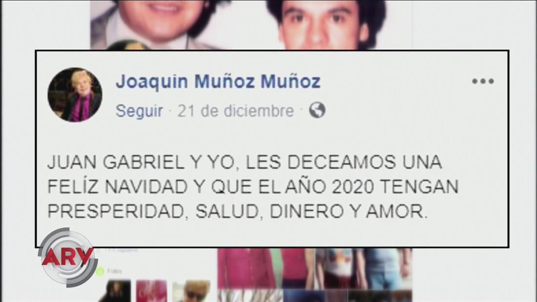 Famosos ARV: Exasistente de Juan Gabriel publica en redes sociales polémico mensaje