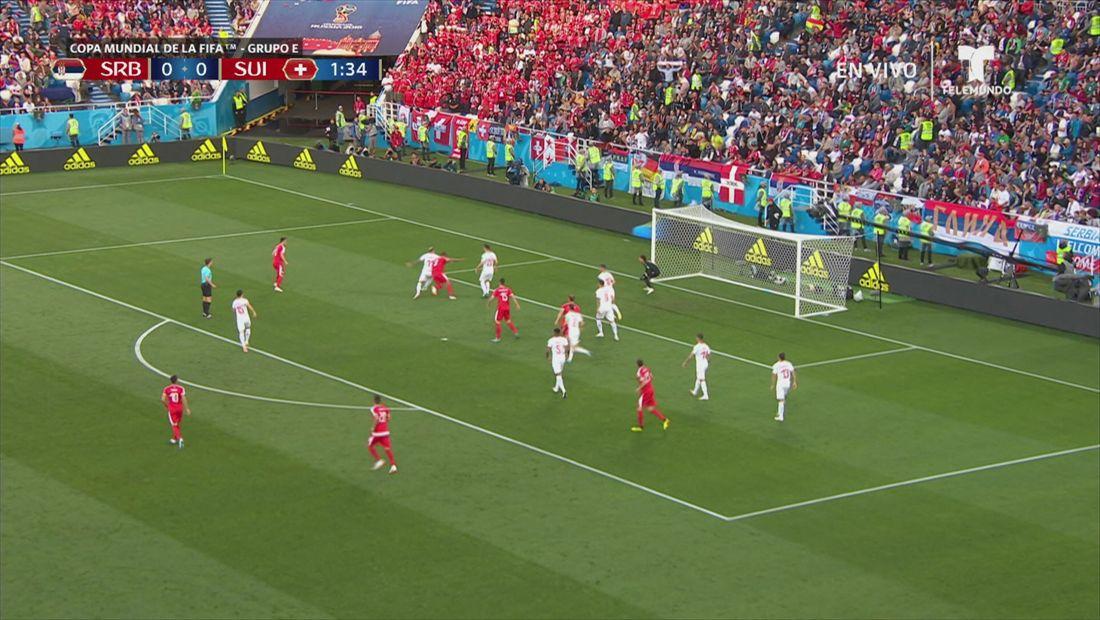 Grupo E:Serbia v Suiza
