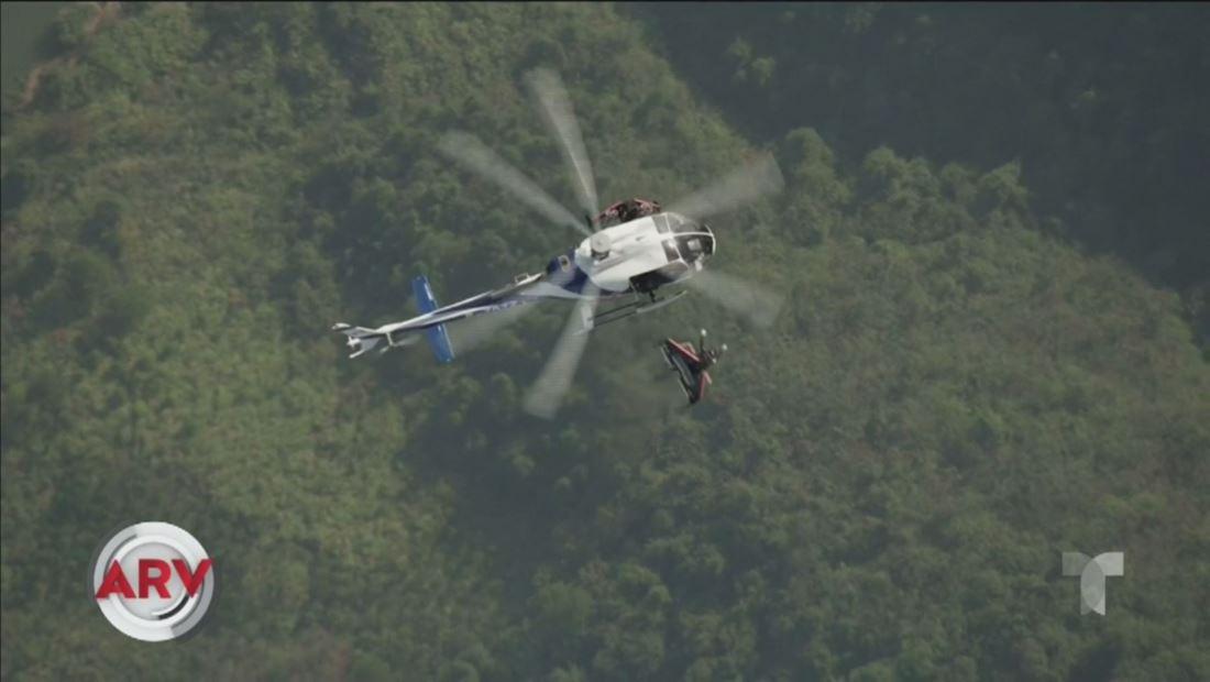 Dos Iron Man de la vida real volaron por los cielos de China
