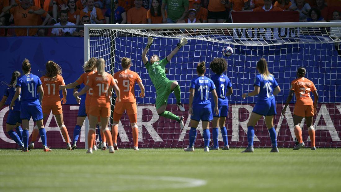 Italia vs Países Bajos