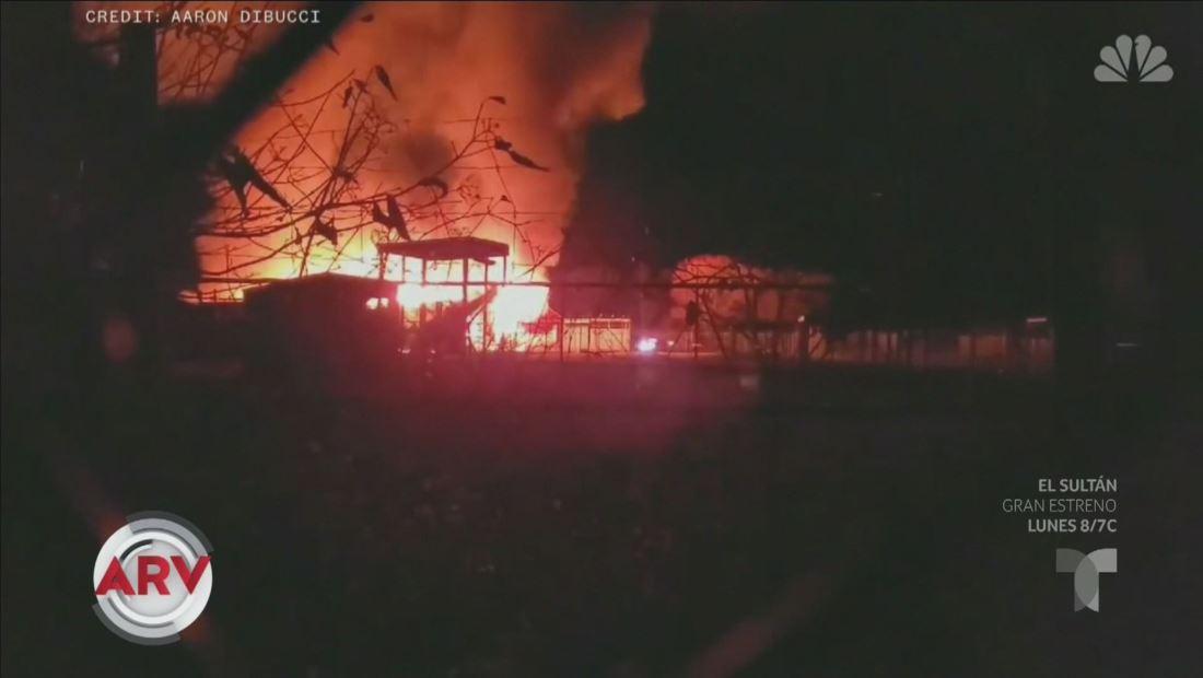 Mueren diez animales durante incendio en un safari de Ohio