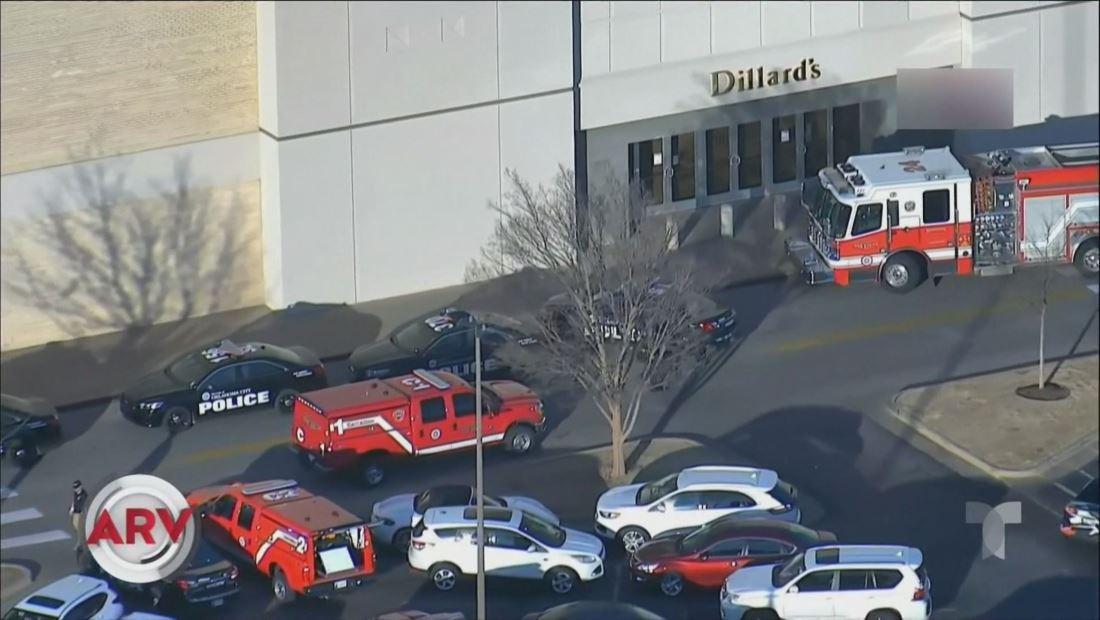 Arrestan a sospechoso que baleó a un hombre en un centro comercial de Oklahoma