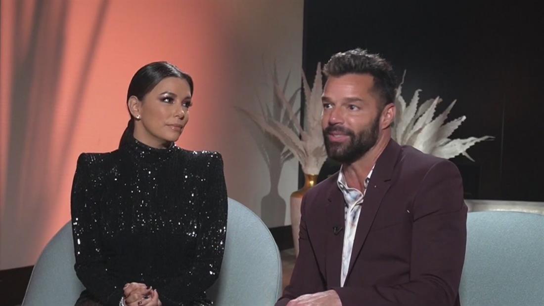 Ricky Martin y Eva Longoria revelan sus favoritas para Miss Universo 2019