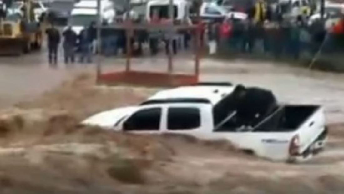 Al menos un muerto durante las fuertes lluvias que azotan a México