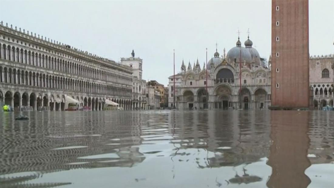 Venecia sufre su peor inundación en los últimos 60 años