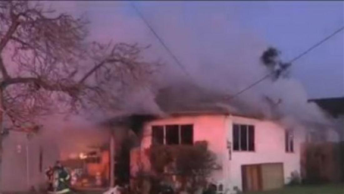 Niña hispana salva a su familia de un voraz incendio en California