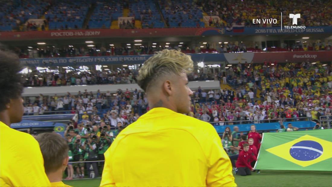 Grupo E:Brasil v Suiza