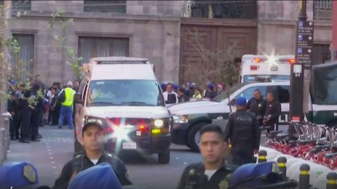 Tiroteo cerca del Palacio Nacional de México deja cinco muertos y varios heridos