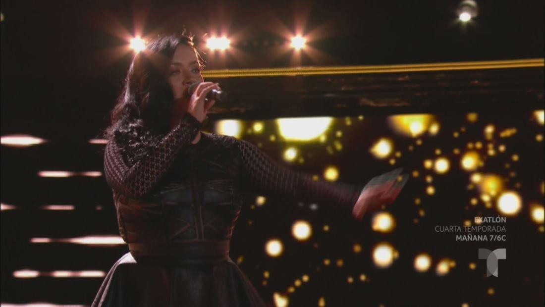 La Voz US 2: Janine Rivera hace girar 4 sillas con su potente voz