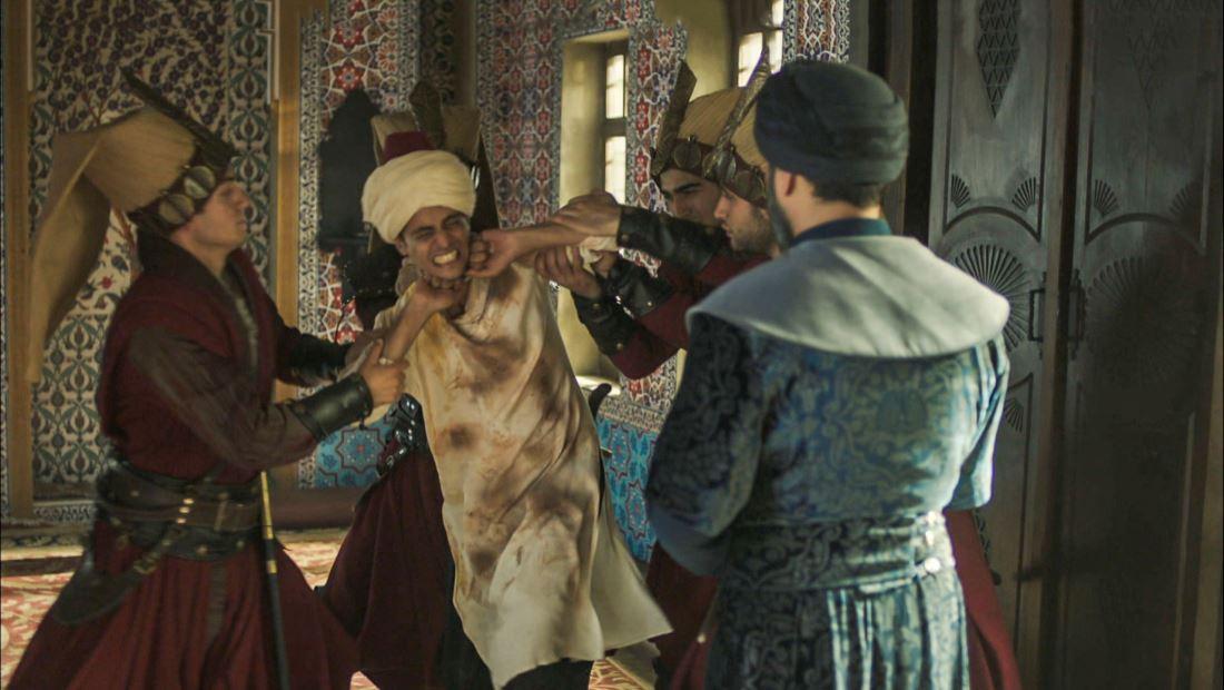 Agoniza el joven sultán Osmán
