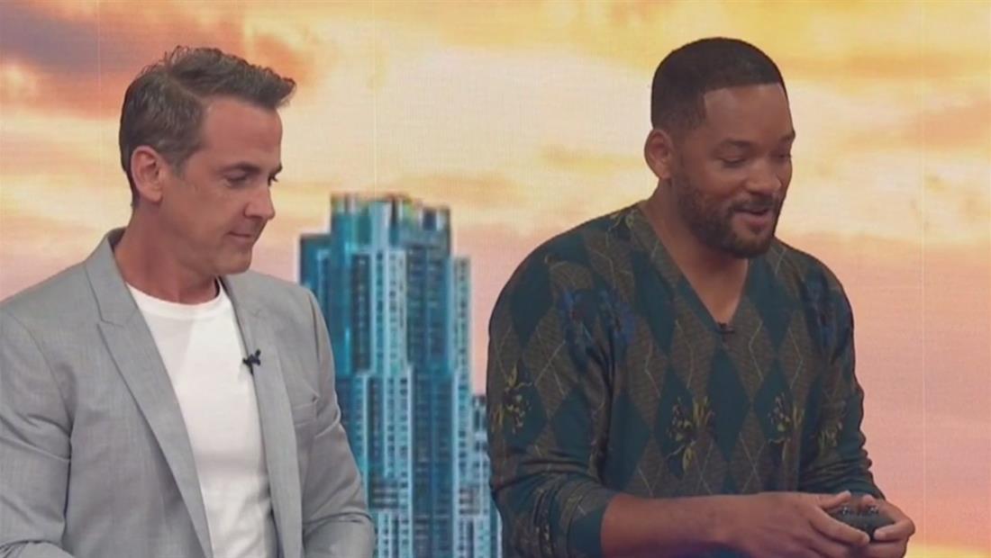 Will Smith vs Carlos Ponce: una carrera de carros al estilo 'Bad Boys'