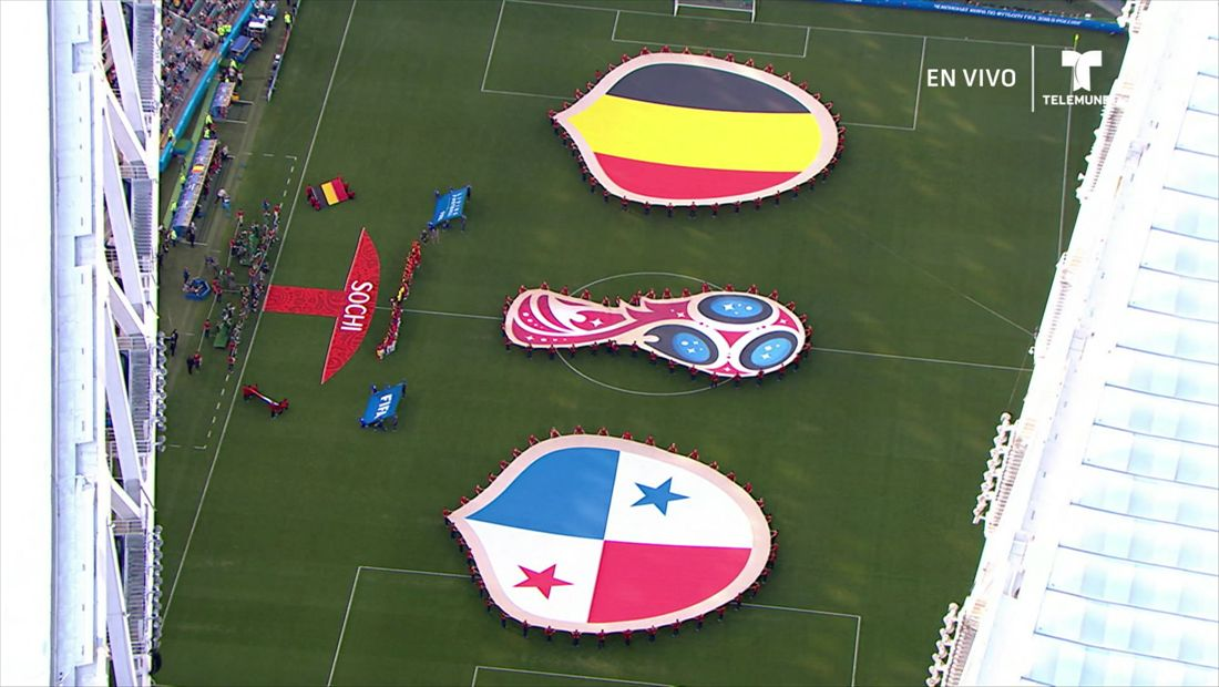 Grupo G:Bélgica v Panamá