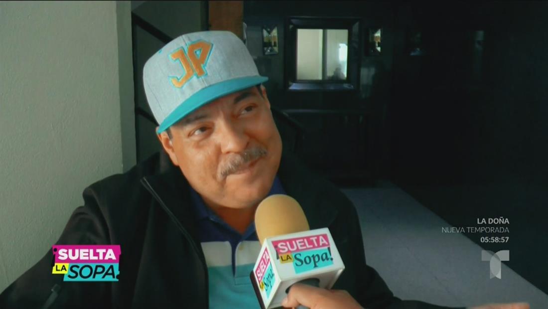 Julio Preciado se despide de su familia antes de trasplante de riñón