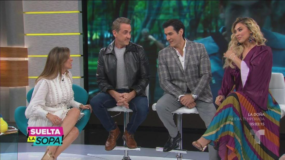 Aracely Arámbula, David Zepeda y Carlos Ponce hablan de 'La Doña'