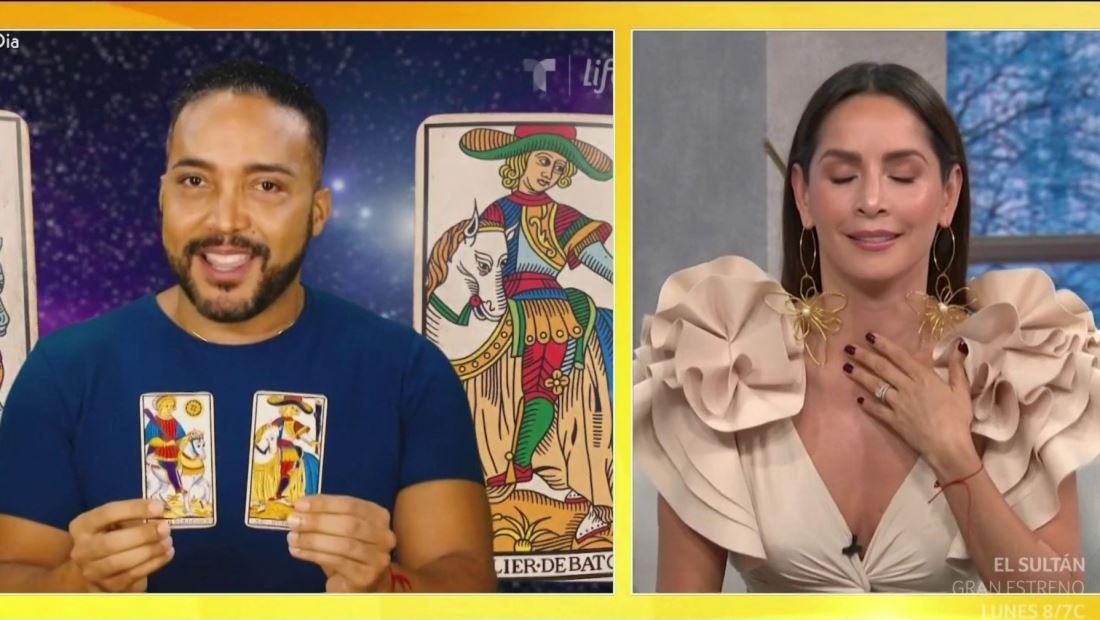 Así reacciona Carmen Villalobos a predicción de que tendrá gemelos pronto