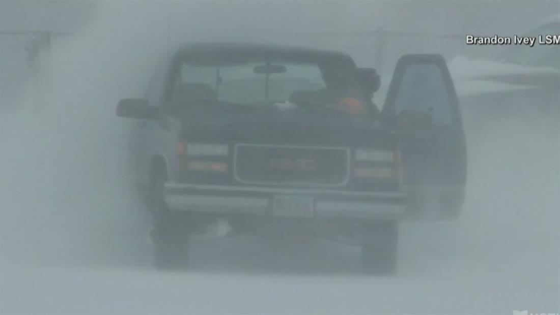 Tormentas invernales amenazan las celebraciones para recibir el 2020