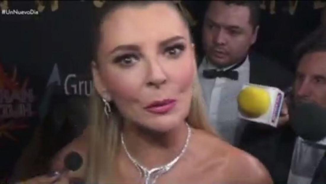 Marjorie de Sousa: tremendo zafarrancho se armó con la prensa