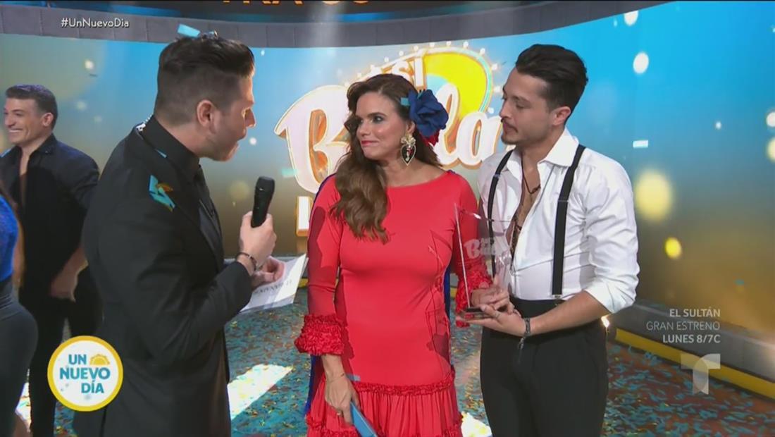 Rashel Díaz es la gran ganadora de 'Así se Baila'
