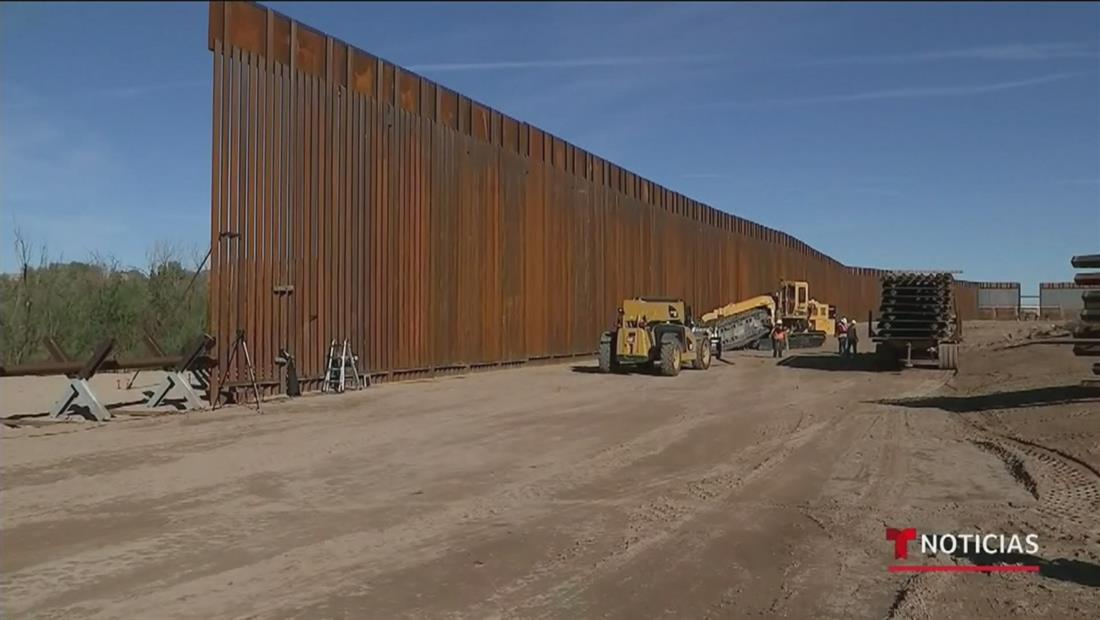 El presidente Trump planea desviar 7,200 millones de dólares del Pentágono para seguir construyendo el muro