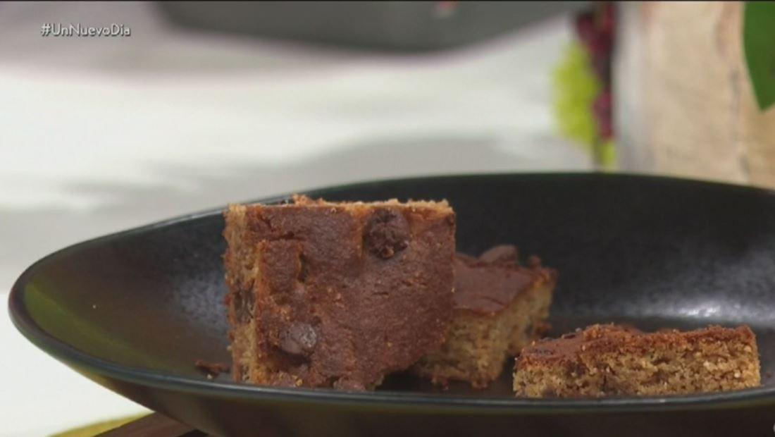 Prepara unos brownies super saludables que no rompen tu dieta
