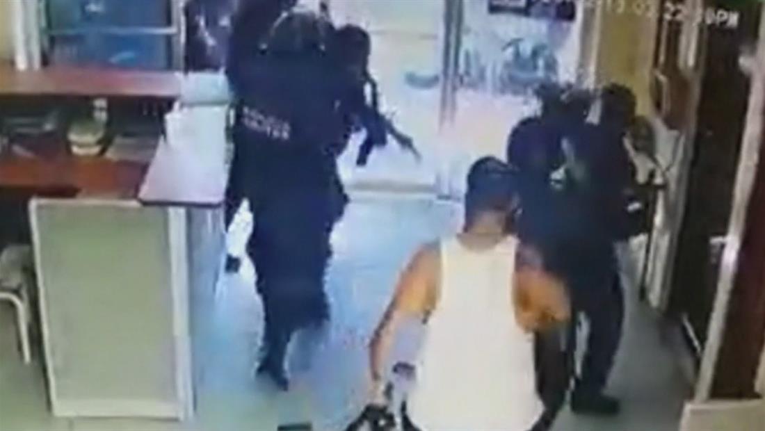 Pandilleros en Honduras rescatan a su líder El Porkys a balazos y quedó captado en video