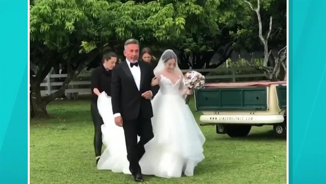 Ricardo Montaner: Imágenes exclusivas de la boda de su hija