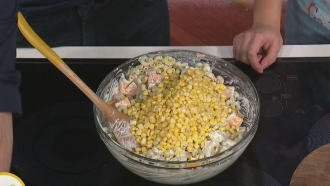 Receta de ensalada de pasta perfecta para el regreso a clases