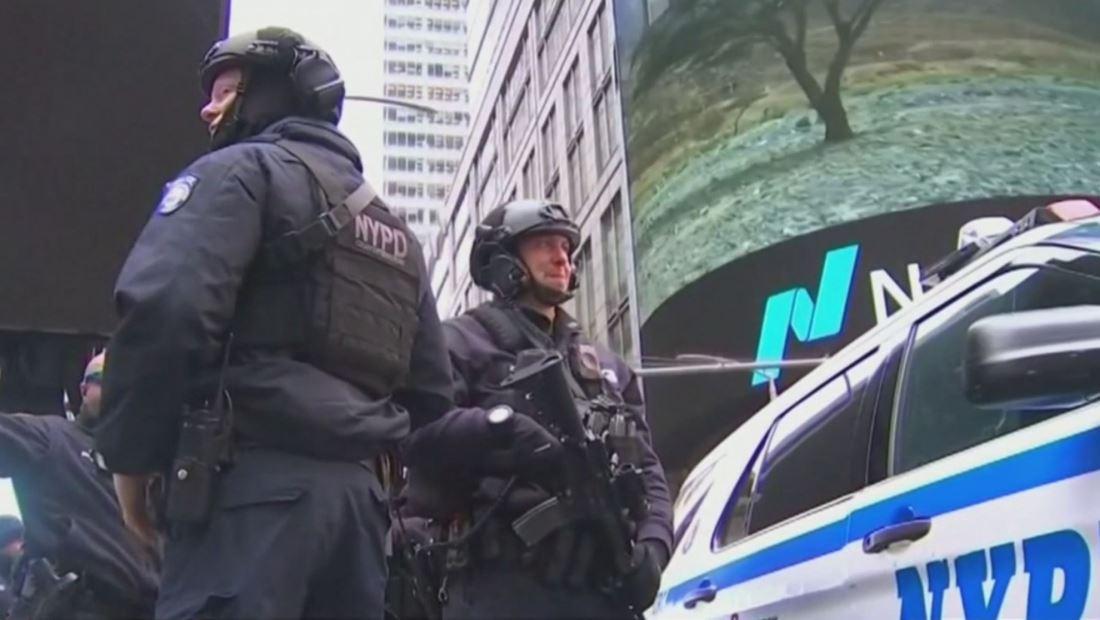 Confirmada total seguridad durante celebración de esta noche en Nueva York