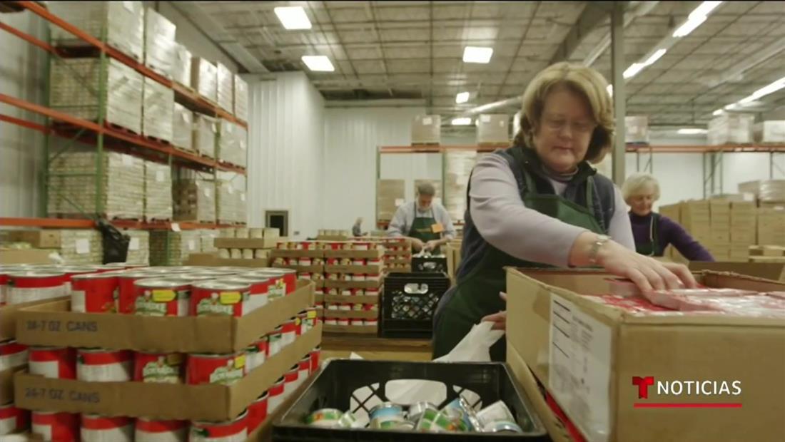 Organizaciones como 'Feeding America' ayudan a suministrar alimentos a los más necesitados gracias a las redes sociales