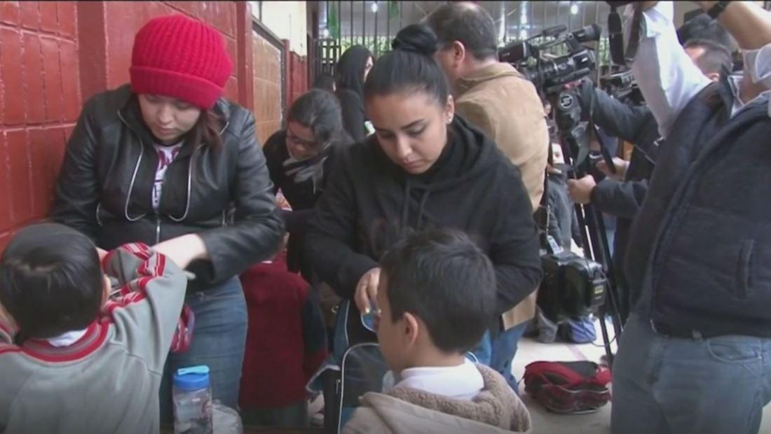 México da inicio a programa 'mochila segura' tras tiroteo en colegio Cervantes