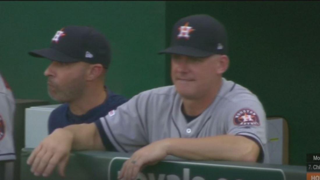 Suspenden al dirigente y gerente de Los Astros de Houston por robo de señales