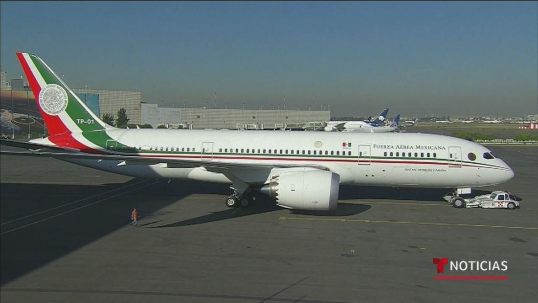 Fracasa el intento de vender el avión presidencial mexicano