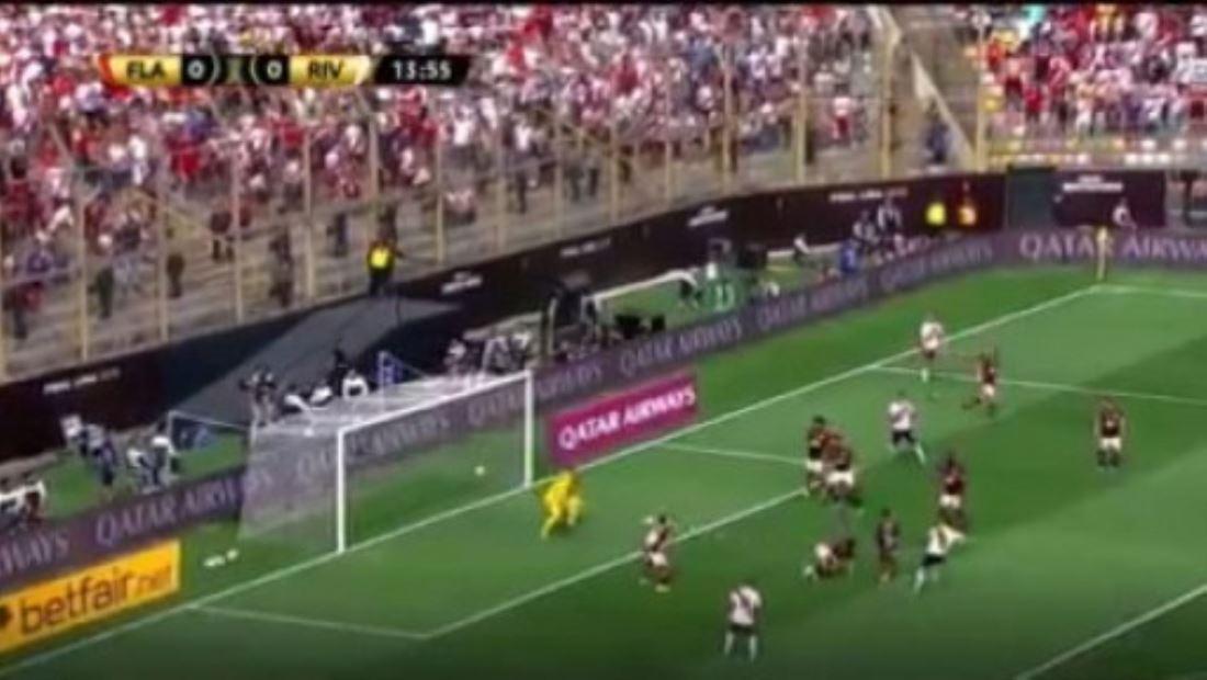 Victoria de Flamengo contra River Plate, 2-1