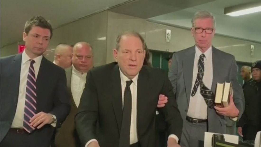 Inicia el juicio penal contra el productor de Hollywood, Harvey Weinstein