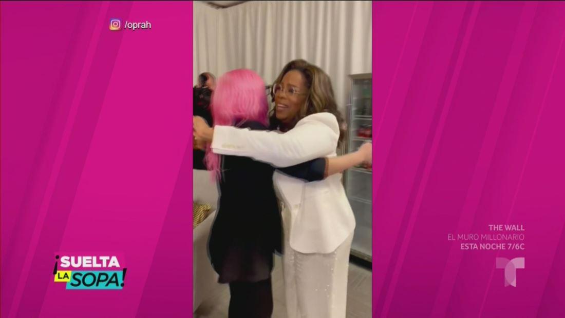 Lady Gaga hace llorar a Oprah Winfrey